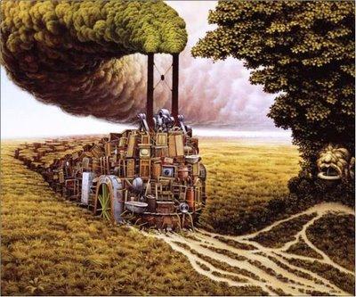 En el tren de la vida  Jacek Yerca