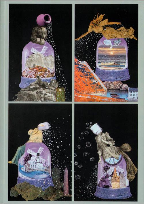 Collages Aube Elleouet