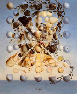 Salvador Dali - Galatea de las Esferas. 1952