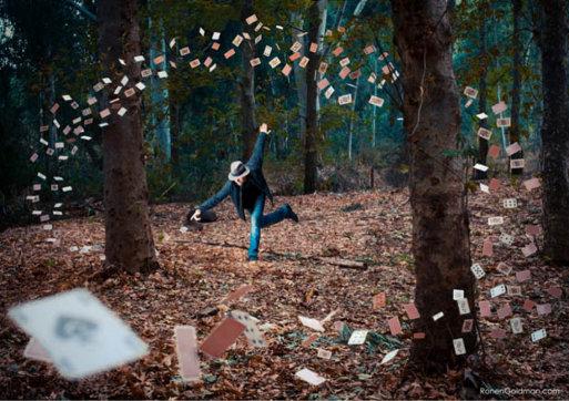 Ronen Goldman Almohada surrealista